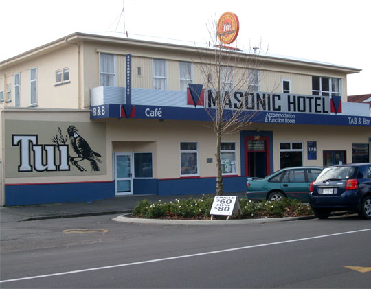 Masonic Hotel Palmerston North